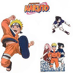 Naruto Anime Wall Stickers and Decals - Boys Room Decor - 1