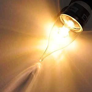 Amazon.com: E12 Base Candelabra Base Chandelier Sconce LED Light ...