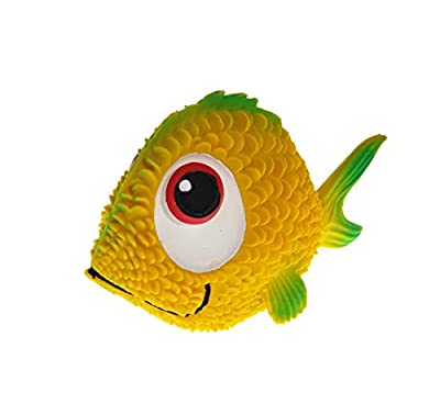 Natural rubber Bath Toy FLORA the Fish green baby natural toy by Lanco Eco friendly safe natural non -toxic toys fantastic choice for bathtime games
