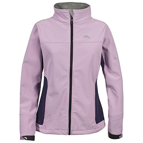 Trespass Mode - Soft shell para mujer, color rosa, talla XL