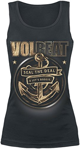Volbeat Anchor Top donna nero XXL