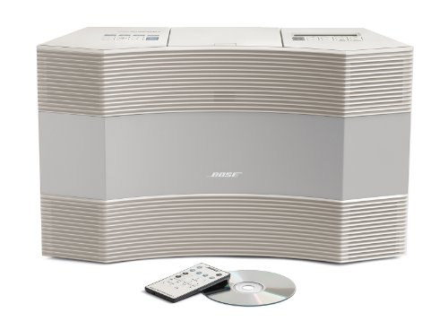 bose acoustic wave music system ii platinum white reviews radio reviews. Black Bedroom Furniture Sets. Home Design Ideas