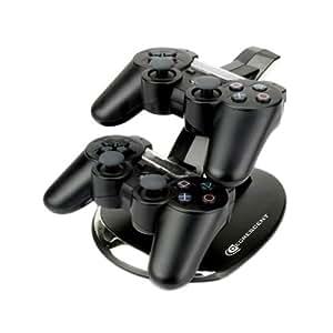 Duo station d'accueil / socle de recharge pour contrôleurs Sony Playstation 3 (PS3) SIXAXIS