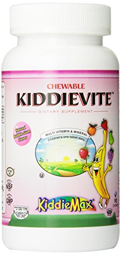 Maxi-Health-Chewable-KiddieVite-Multivitamins-Minerals-Bubble-Gum-Flavor-90-Chewies-Kosher