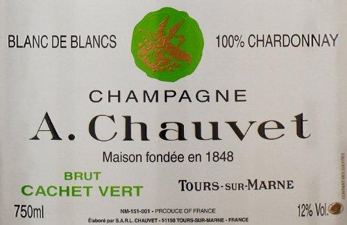 Nv A. Chauvet Blanc De Blancs Cachet Vert Grand Cru 750 Ml
