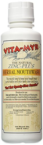 VITA-MYR Zinc-Plus Xtra Herbal Mouthwash