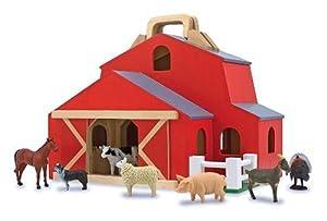 Melissa & Doug Fold & Go Barn by Melissa & Doug