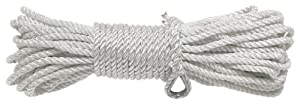 "Stearns Twisted Nylon Anchor Line (White, 3/8""100')"