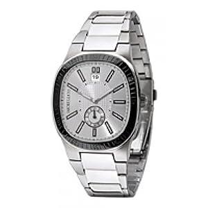 Morellato Just time SZ6007 - Reloj de caballero de cuarzo, correa de acero inoxidable color plata