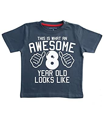 This what an awesome 8 year old looks like navy boys 8th for 7 year old boy shirt size