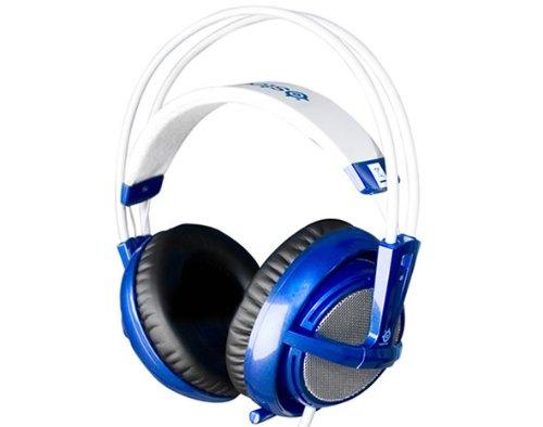 Steelseries Siberia V2 Fullsize Headset With Microphone - Blue