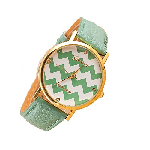 babe-mall-incr-trendy-women-lady-geneva-premium-pu-leather-band-chevron-wave-wrist-watchmint-green