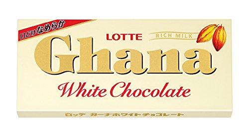 ロッテ ガーナホワイト 45g×10箱
