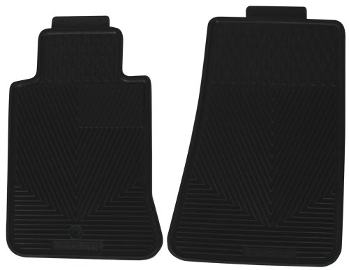 Highland 4603000 All-Weather Black Front Seat Floor Mat front-468860