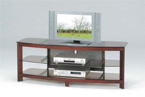 Image of Zephyr Contemporary LCD Plasma TV Media Stand (B000JLXFHA)