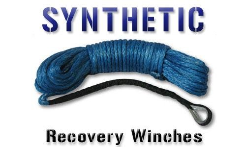 New ProMark Offroad 92' Blue Synthetic Winch Rope for 8k-12k Self Recovery Winches SK