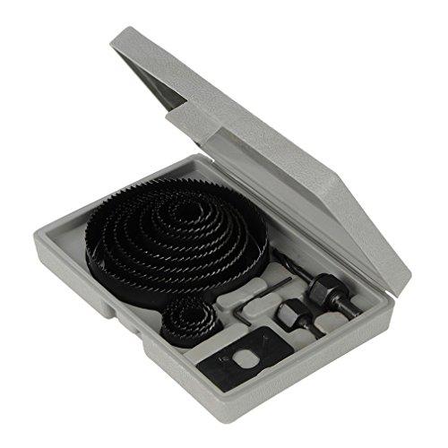 silverline-633729-juego-coronas-perforadoras-16-pzas-19-127-mm