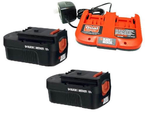 Black & Decker FSB18 2-Pack Battery and Dual Charger Combo # FSB18-2DC at Sears.com