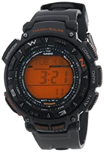 Casio Men's PAG240-8 Pathfinder Triple Sensor Tough Solar Digital Watch