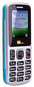 TTsims - Dual Sim TT130 Mobile Phone - Camera - Bluetooth - Cheapest Twin 2 Sim Phone -  Blue