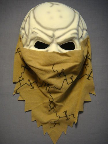 DEAD  (Foam Latex Skull Mask)