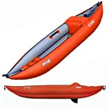 Twist I Inflatable Kayak in Red/Gray