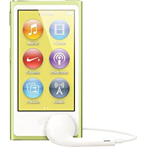 Apple Ipod Nano 16gb Yellow 7th Generationest Model