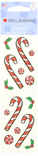 Mrs. Grossman's Stickers-Jolly Peppermint Candy