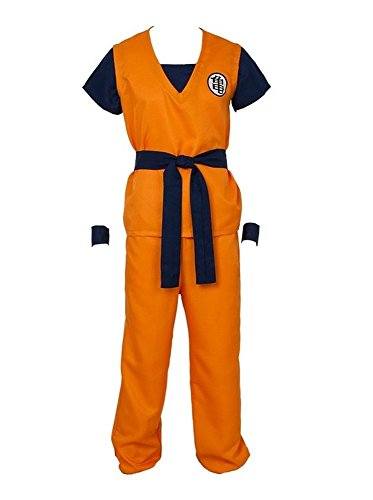 Wonder Wall Son Goku Turtle Cosplay Costume (L) (Goku Costume Adult)
