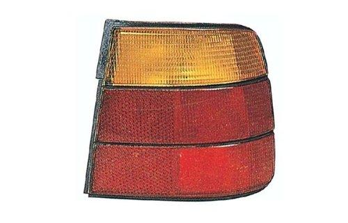 BMW 5 Series Sedan 89-95 Tail Light Assembly Rh US Passenger Side Amber / Red