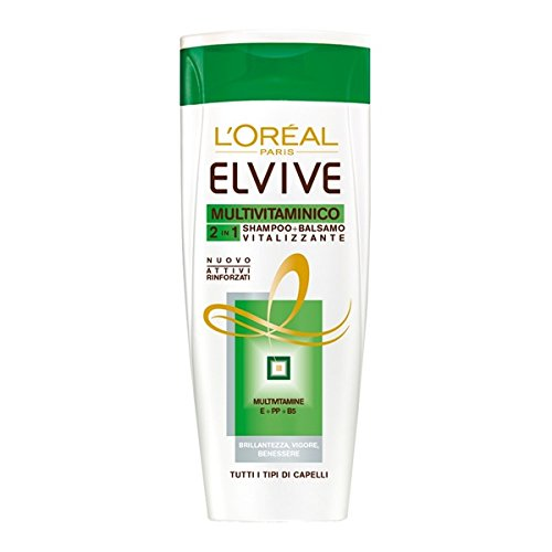L'Oreal L Oreal Elvive Multivitaminico 2 In 1 Shampoo + Balsamo 400 Ml