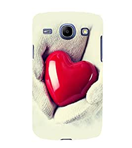 printtech Soft Heart Hands Back Case Cover for Samsung Galaxy J2 / Samsung Galaxy J2 J200F