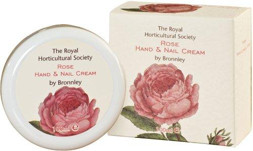Royal Horticultural Society Rose Hand & Nail Cream 100ml