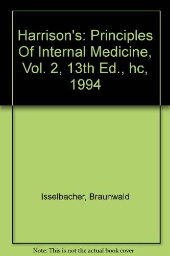 Principles 18e harrisons pdf of internal medicine