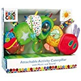 Activity Caterpillar - Developmental Caterpillar - The Very Hungry Caterpillar - New Born Baby Gift - Activity Toy for Baby - Baby Gift - Traditional Toy for Baby - Buggy Buddy
