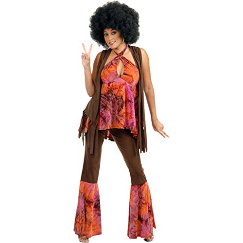 San Francisco Hippie Girl Adult Costume