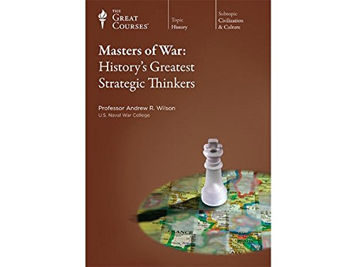 The Great Courses: Masters of War: History's Greatest Strategic Thinkers (Teaching Company Cd compare prices)