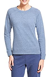 M&S Collection Crew Neck Sweat Top [T51-0777-S]