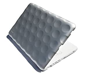 Hard Candy Cases STH-MAC13-SLV Bubble Shell Stealth Case für MacBook 33 cm (13 Zoll) silber