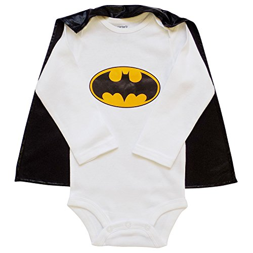 So Sydney Superhero Onesie Romper with Detachable Cape Baby, Toddler, Boy, Girl (XL (18-24 Months), (Batman Costume Sydney)