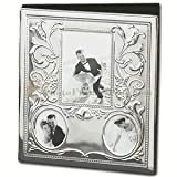 Silver Plated Metal Classic Wedding Marriage Multi Size Picture Photo Album