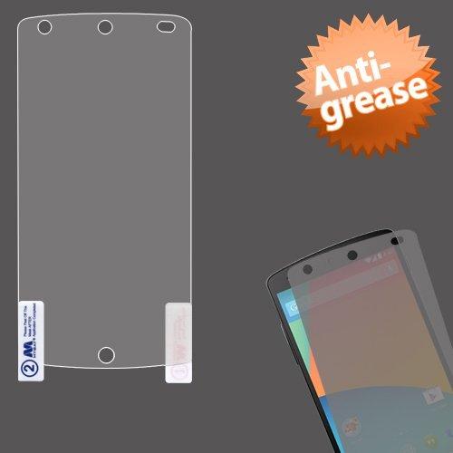 Mybat Lg D820 Nexus 5 Anti-Grease Lcd Screen Protector - Retail Packaging - Clear