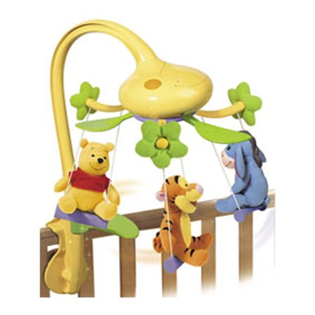 Tomy 71164 Winnie the Pooh Swing Time Baby Mobile