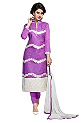 Parinaaz Fashion Cotton Unstitched salwar suit