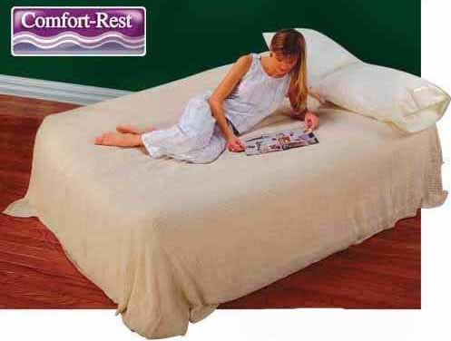 Queen Raised Supreme Airbed Mattress Air Bed + Rechargeable Pump By Intex front-938708