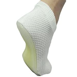 Non-Skid grip Womens Shower Slippers size 9-12, Gym Slippers, Spa Slippers, Nurse Slippers