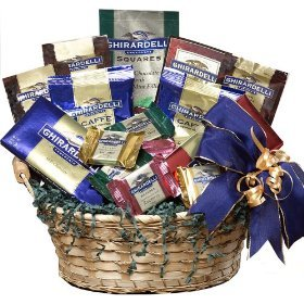 SCHEDULE YOUR DELIVERY DAY! Ghirardelli Chocolate Lovers Gift Basket
