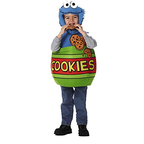Kid's Sesame Cookie Monster Costume (Size: Standard 7-10)
