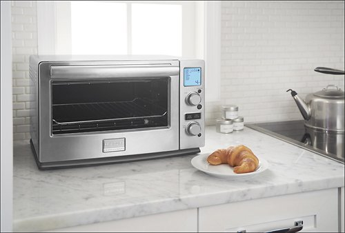 Frigidaire Professional 0.7 Cu. Ft. Toaster Oven - Stainless-Steel back-143571