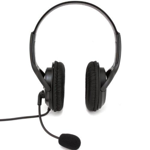 Arsenal Gaming Ap3Hdsetb Wired Dual Headset, Black - Playstation 3